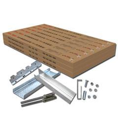 拜尔轻钢龙骨(10㎡套装)工厂店 10m² 箱