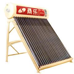 桑乐 SANGLE太阳能热水器家用 全自动电热水器 花开富贵 30管-243L送货上门安装 光电两用