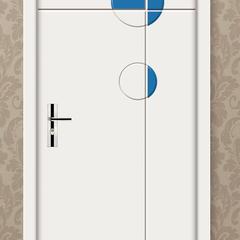 CGB大豆蛋白胶WQ平框门室内门环保实木门   工厂店 套 实木 平框门
