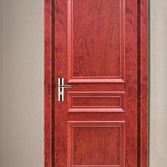 豆白金大豆蛋白胶实平板门室内门环保实木门 (橡木)  工厂店