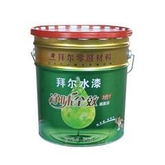 拜尔无醛净味全效三合一水性墙面漆 25Kg 桶