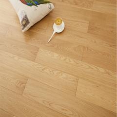 豆白金大豆蛋白胶实木多层地板防滑环保木地板 1220mm*165mm*15mm 平方米 NAF无醛级